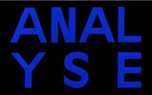 Anal / Analyse